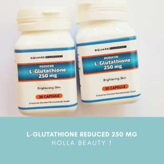 L-GLUTATHIONE REDUCED 250 mg Suplement Whitening