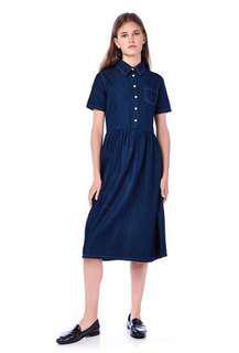 [BN] The Editor's Market Sophia Denim Shirt Dress