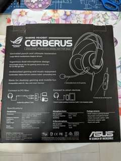 ASUS Cerberus Gaming Headset
