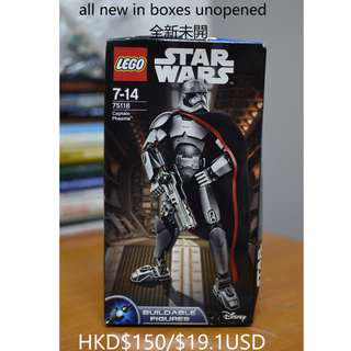LEGO Star Wars Buildable Figures Captain Phasma