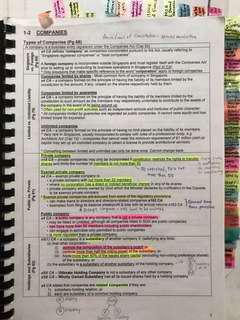 AC2302 Company Law Bible