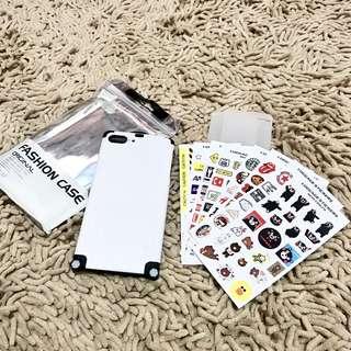 Luggage case koper iphone 7 plus 8 plus white