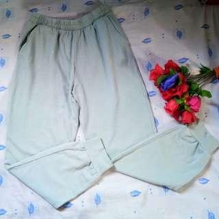 f21 mint green sweatpants