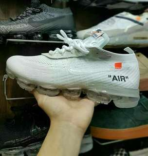 NIKE AIR VAPORMAX OFF WHITE ALL WHITE