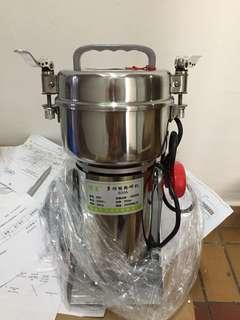 Stainless steel grinder - dry