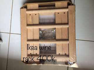 Ikea wine racks