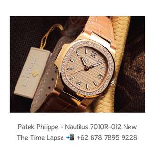 Patek Philippe - Nautilus Lady 7010R-012 (New in Box)