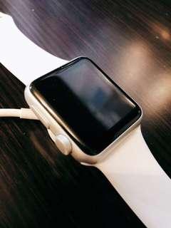 Apple Watch 銀色series 1 38mm
