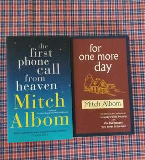 Mitch Albom  - For One More Day , The First Phone Call From Heaven