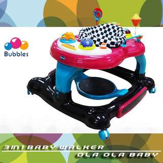 Bubbles 3 in 1 Walker