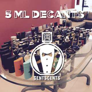 Most Popular Designer Perfumes (and some niche too!) 5mL Decant/Sample