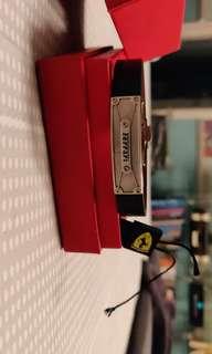 Original Ferrari Leather Bracelet