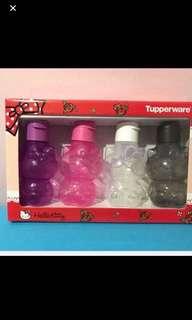 Tupperware Hello kitty set bottle 425ml