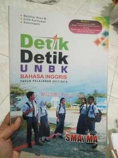 DETIK-DETIK UNBK SMA BAHASA INGGRIS 2017/2018