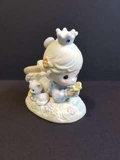 Precious Moments Figurine - Sunshine Brings You A Purr-text Friend