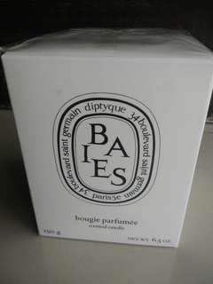 "Diptyque paris ""baies bougie parfumée"""