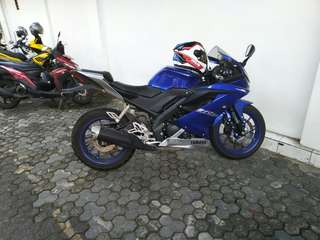 Knalpot original r15v3 vva jual or TT racing