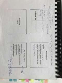 AC2302 Company Law Notes