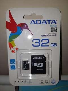 威剛 ADATA  32GB 記憶卡(全新)