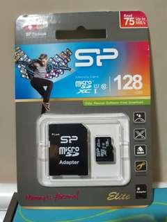 記憶卡 SP 廣穎 128GB (全新未拆)