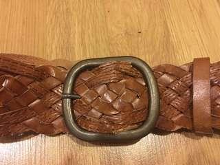 Cool leather belt