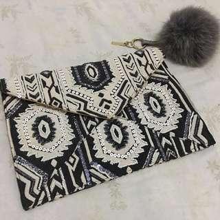 Elegant handmade purse