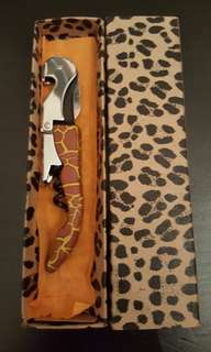 Safari Design Wine/Beer Opener Brand New