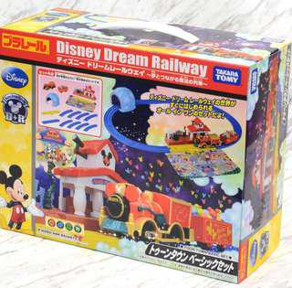 Tomy plarail Disney Dream Railway Toon Town Set mickey train Japan