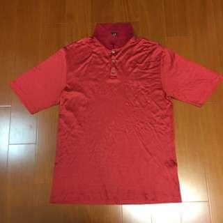 🚚 (size L) 意大利製 Dunhill 絲光棉短袖polo衫