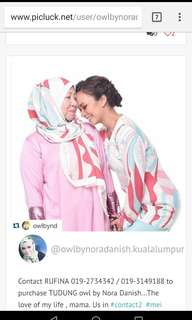 ND by Nora Danish Kurung Moden Size S