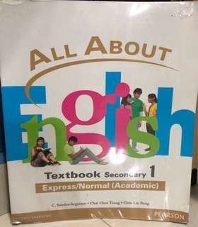 All About English Secondary One Textbook
