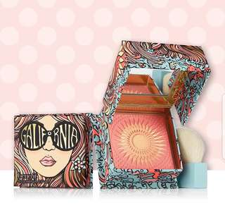 Benefit GALifornia陽光女孩蜜粉