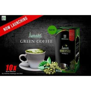 Hannis Green Coffee NEW PACK