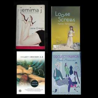 BOOK SELECTION: CHICKLIT / YOUNG ADULT (C) - Jemima J * Loose Screws * Lucy Crocker 2.0 * Project Fashion: Prada Princesses