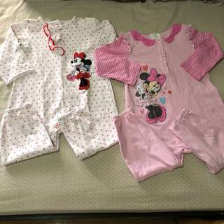 Preloved Minnie Mouse jumpsuits