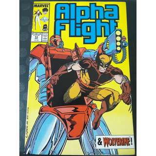 Alpha Flight #53 (Early Jim Lee art)