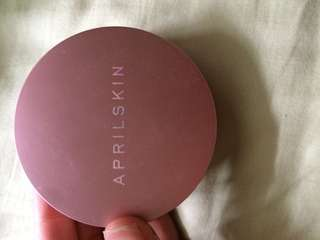 Aprilskin snow fixing foundation pressed powder 22
