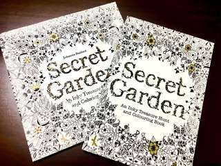 Secret Garden : Adult Colouring Book (2 pcs)