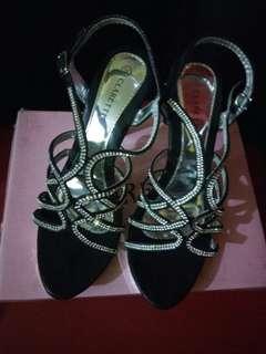 High heels clarette