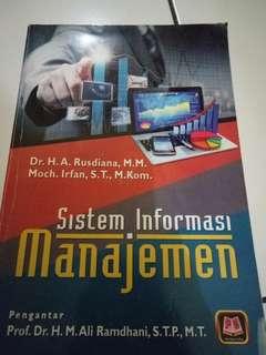 Buku Sistem Informasi Manajemen Karya H. A. Rusdiana Pustaka Setia