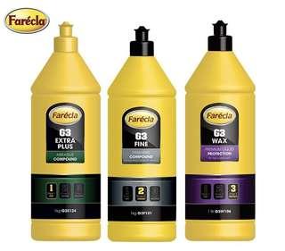 🚚 (預購)新!英國知名 Farecla G3 水性拋 粗蠟  研磨劑 汽車美容愛用品牌 1L 用量比桶裝G3省3倍以上