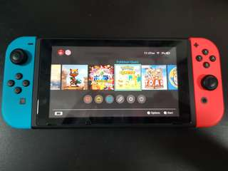 Nintendo Switch Local Set Neon Red Blue