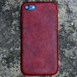 Iphone 7 8 純手工全皮手機殼 手機套 皮革 Handmade leather phone case DIY