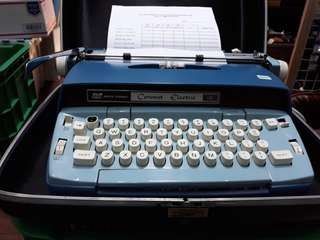 Coronet Electric Typewriter