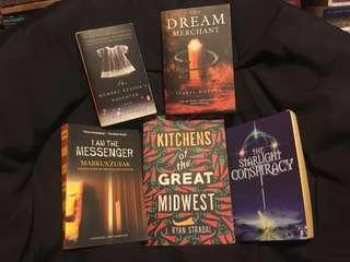 Random novels selection