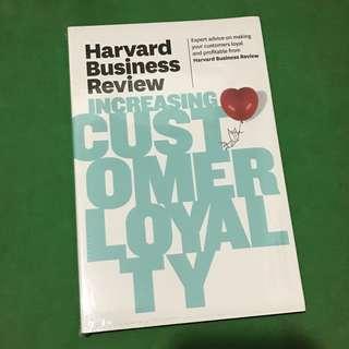 📚🆕Harvard Business Review: Increasing Customer Loyalty
