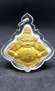 Phra Rahu Lp Ruyin 2558