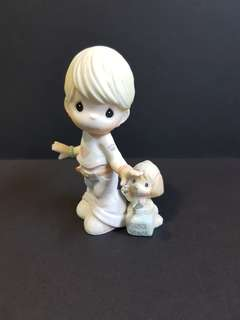 Precious Moments Figurine - You've Made An Impression On Me