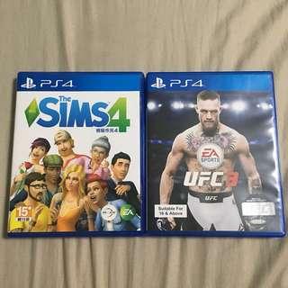SIMS 4 & UFC3