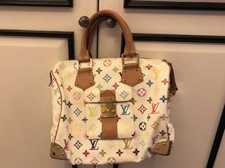 Louis vuitton multicolor tote